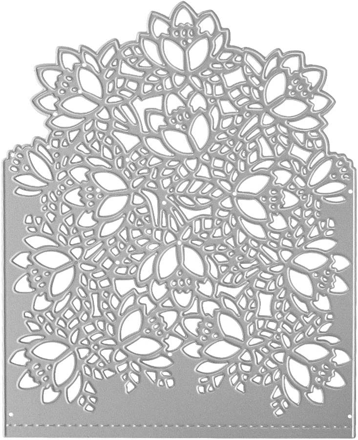 Cutting Dies Metal Flower Invitation Genuine Free Shipping Cover Decoration Emb Front 25% OFF
