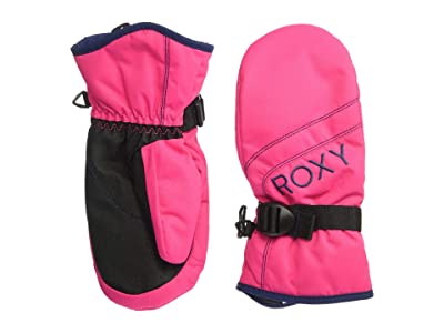Roxy Kids Jetty Solid Girl Mitten (Little Kids/Big Kids) (Beetroot Pink) Extreme Cold Weather Gloves
