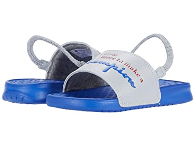 Champion Kids Super Slide More (Toddler) (Silver Stone/Blue) Kid