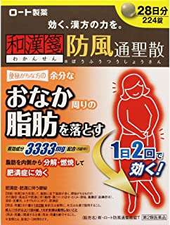 【第2類医薬品】新・ロート防風通聖散錠T 224錠