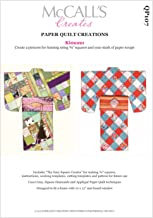 McCall's Creates W10626 Paper Quilt Creations Craft Pattern, Kimono Quilt Picture