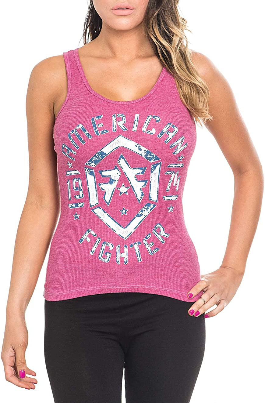 American Fighter Womens Tank Tops. Workout Tank Top for Women. Womens Tanks.