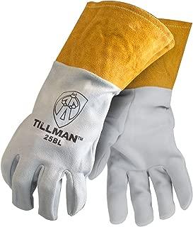 Tillman Large Pearl Split Deerskin Unlined Premium