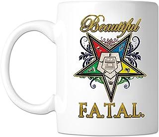 Beautiful F.A.T.A.L. Masonic 11 oz. Coffee Mug