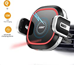 Wireless Car Charger Mount, 10W/7.5W Qi Car Charger Air Vent Phone Holder Wireless Quick Charging Mount for iPhone X XR Xs Max 8 8Plus Samsung Note 9 S9 S9+ S8+ Edge S7 S6, Automatic Infrared Motion.