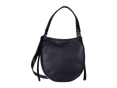 AllSaints Ada Hobo (Black) Handbags