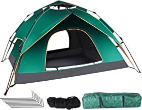 Sponsored Ad - Camping Tent Pop Up Beach Tent Outdoor Camping Tents and Shelters Easy Setup Durable Waterproof Backpacking...