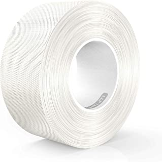 LLPT Duct Tape Premium Grade Residue Free Strong Waterproof Adhesive Multiple Colors Available 2.36 Inches x 108 Feet x 11 Mil White(DT243)