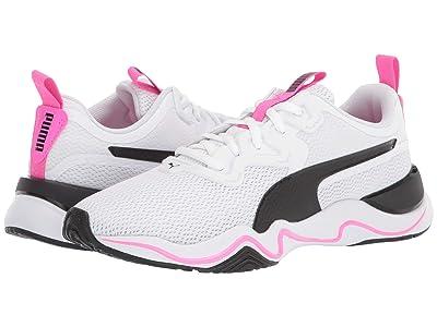 PUMA Zone XT (Puma White/Puma Black/Luminous Pink) Women