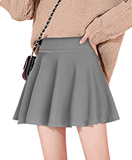 Womens Tennis Skirt with Pockets Athletic Golf Skorts Casual Flared Pleated Skater Skirts with Shorts
