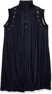 Just Cavalli womens Just Cavalli Womens High Neck Dress Casual Dress