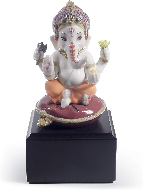 LLADRÓ Bal Ranking 35% OFF TOP9 Ganesha Figurine. Porcelain Figure.