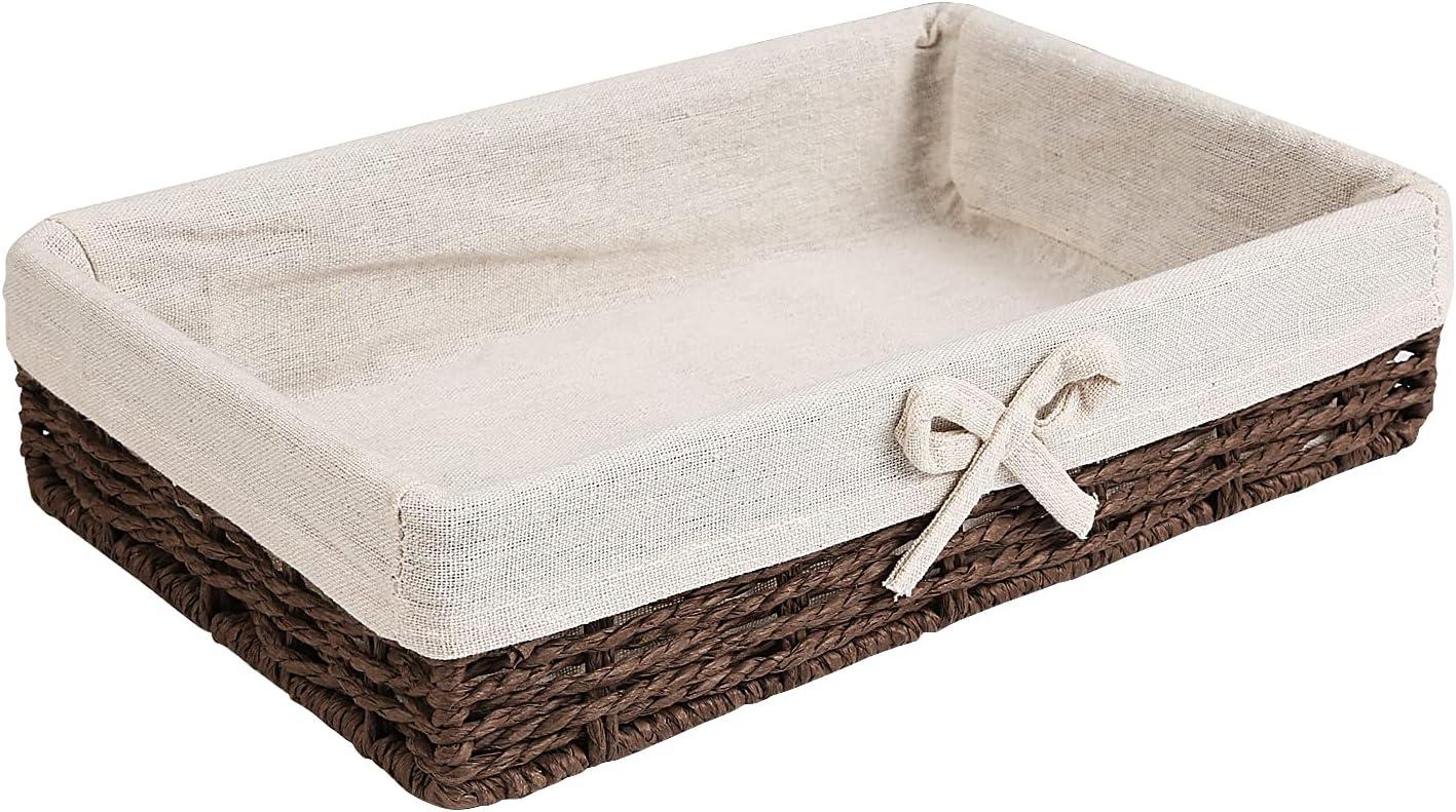 BSTNASI Handmade Max 86% OFF Woven Paper Basket-11.8