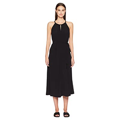 Eileen Fisher Halter Dress (Black) Women