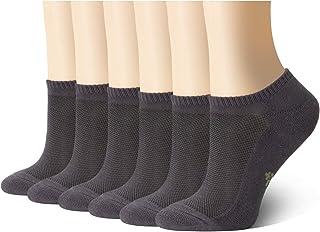 +MD Chaussettes unisexes Chaussettes ultra-douces en bambou athlétique avec bout sans couture, décontracté, antidérapant