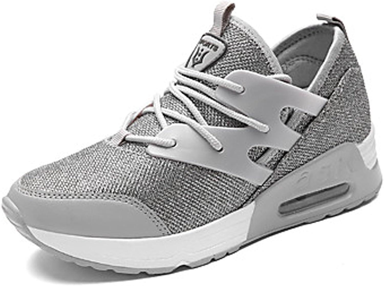 DANDANJIE New Women's Mesh Sneakers Spring Sports Casual Running shoes Breathable Net shoes Korean Flat Net Mesh shoes Sneakers