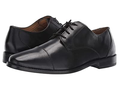 Florsheim Montinaro Cap Toe Oxford (Black Smooth) Men