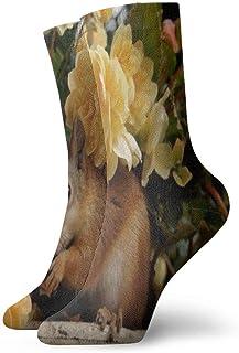 BEDKKJY, Calcetines Deportivos Starfish El Mejor Vestido para Hombre único Calcetín Decoración Calcetín para niños
