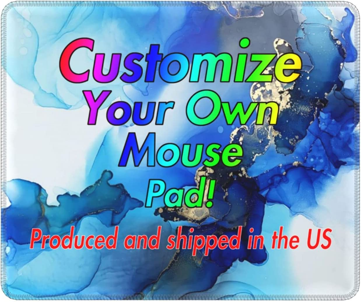 Marble Computer Mouse mart Pad Custom Picture Personalized Gami Financial sales sale Photo