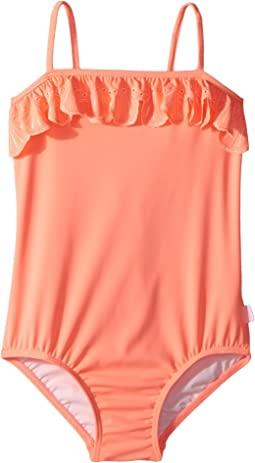 Seafolly Kids - Sweet Summer Frill Tube Tank One-Piece (Infant/Toddler/Little Kids)