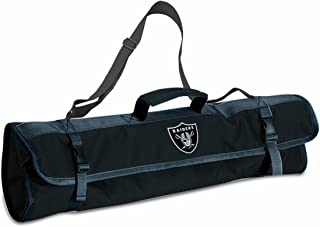 NFL Oakland Raiders 3-Piece BBQ Tool Tote