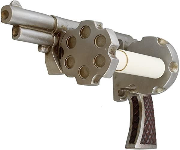 Pistol Revolver Toilet Paper Holder