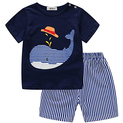 Toddler Baby Girls Short Sleeve Striped Dress Kids Dress Summer Beach Maxi Dress
