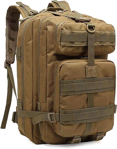BYbrutek US Assault Pack 40L Sac à Dos Tactique