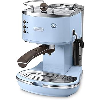 DeLonghi ECOV 311.AZ Independiente Manual Máquina espresso 1.4L Azul - Cafetera (Independiente, Máquina espresso, 1,4 L, De café molido, Azul): Amazon.es: Hogar