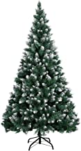 LOKASS Christmas Tree 6 Feet Christmas Pine Tree with Metal Stand for Christmas Decoration, Easy Assembly
