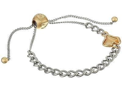 Rebecca Minkoff Organic Metal Pull Bracelet (Gold/Silver) Bracelet