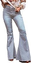 Europese en Amerikaanse herfst/winter jeans mode hoge taille effen kleur stretch slim fit comfortabele wijd uitlopende broek