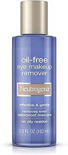 Neutrogena Oil-Free Gentle Eye Makeup Remover, 5.5 Fl. Oz. (Pack of 3)