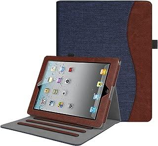 Fintie iPad 2/3/4 Case [Corner Protection] - [Multi-Angle Viewing] Folio Smart Stand Cover with Pocket, Auto Sleep/Wake for Apple iPad 2, iPad 3 & iPad 4th Gen with Retina Display, Denim Indigo