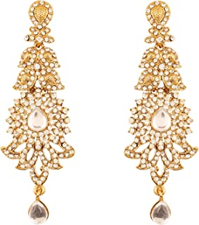 Best indian long gold earrings Reviews