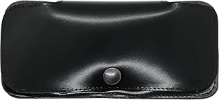 Lucy Shop Astuccio Occhiali Artigianale Vera Pelle mod. ClipOn - Custodia originale in cuoio – portaocchiali vista sole - ...