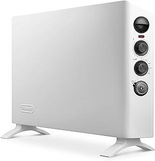 DeLonghi HSX 3320 FTS - Calefactor (Calentador de ventilador, 24 h, Interior, Blanco, Giratorio, 2000 W)