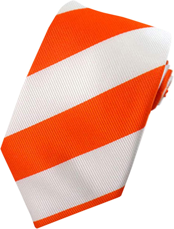 Jacob Alexander Boys' 1-Inch Stripes School College Prep Neck Tie