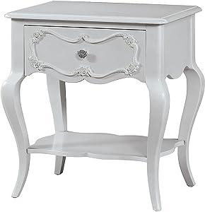 ACME Furniture 30510 Edalene Nightstand, Gray