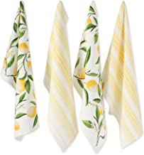 DII Lemon Bliss Kitchen Textiles, 18x28, 4 Piece