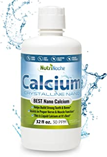 NutriNoche Best Calcium Supplement –Natural Formula, Essential Support for Strong Bones & Teeth