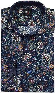 Bodyfit estampado manga larga Olymp Camisa 2030.64.18