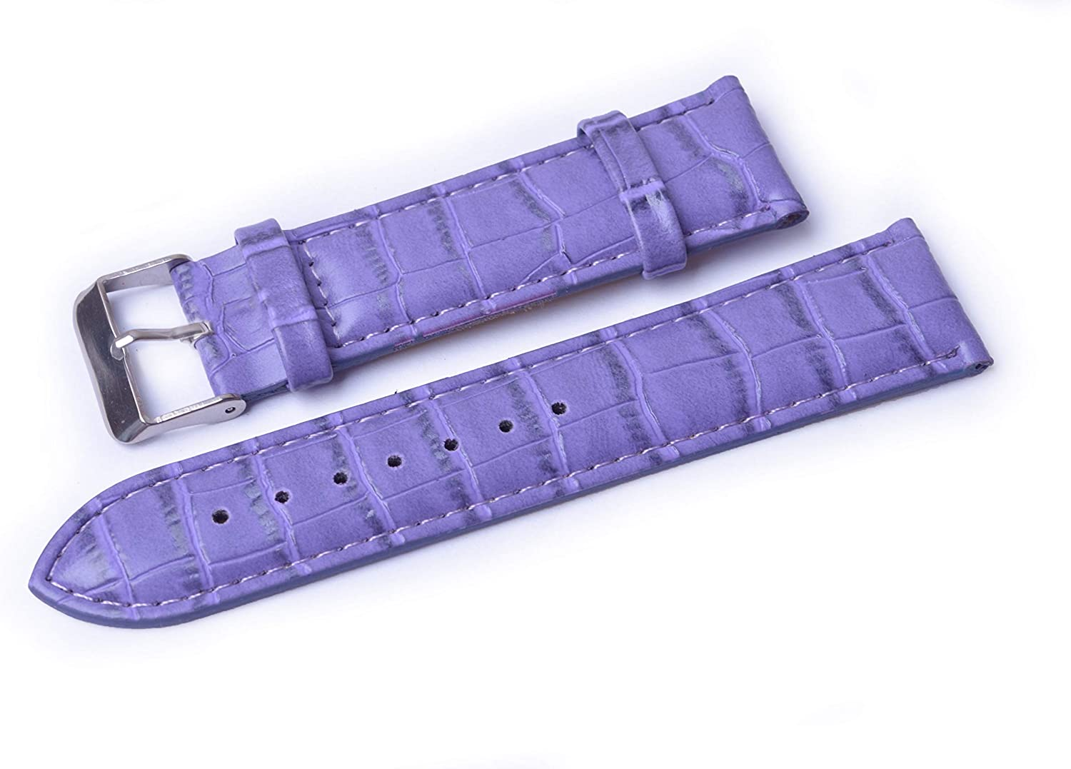 WENTO PU Leather 2021 model Watch Bands Replacement Grain Padded shipfree Alligator