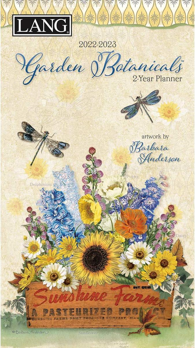 LANG Garden BOTANICALS 2022 Two Year Planner (22991071103)
