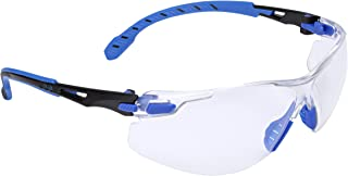 3M Personal Protective Equipment Solus 1000-Series Safety Glasses S1101SGAF, Black/Blue,..