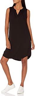 Amazon Essentials Women's Standard Sleeveless Woven Shift Dress