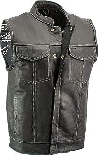 Best thin leather vest Reviews