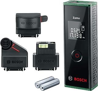 Bosch Zamo III Set Premium 4 in 1 Digital Laser Measurer 20m (Range Finder, Tape Adapter, Wheel Adapter, Line Adapter and ...
