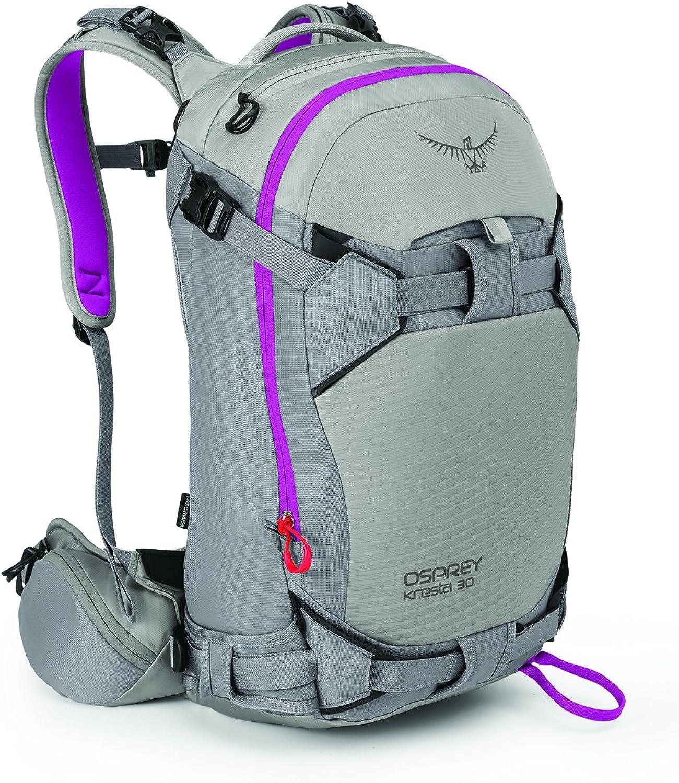 Osprey Packs Women's Kresta 30 Ski Pack, Twilight Grey, Medium Large