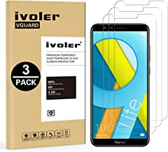 iVoler [3 Pack] Pellicola Vetro Temperato per Huawei Honor 9 Lite [Garanzia a Vita], Pellicola Protettiva Protezione per Schermo per Honor 9 Lite - Transparente